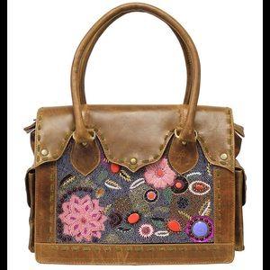 Beautiful vintage addiction beaded shoulder bag